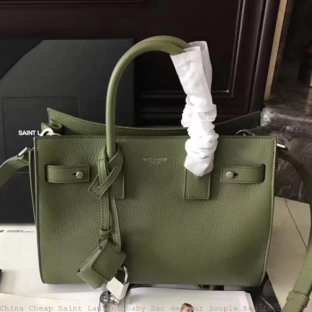 China Cheap Saint Laurent Baby Sac De Jour Souple Bag In