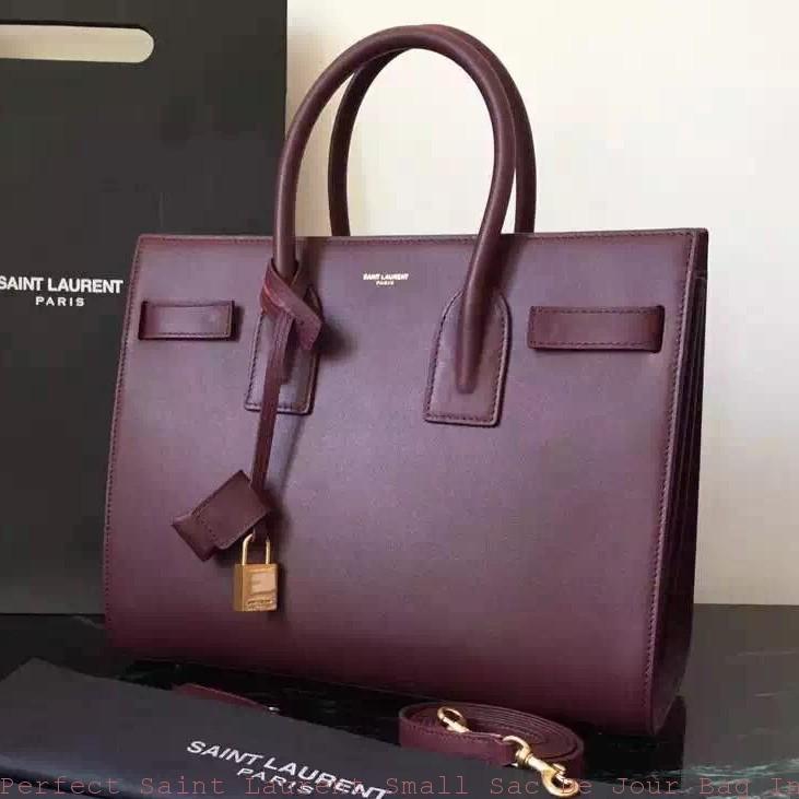 1a77b67a8c6 Perfect Saint Laurent Small Sac De Jour Bag In Bordeaux Leather ...